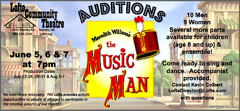 2016 05 18 Lofte MusicMan Audition
