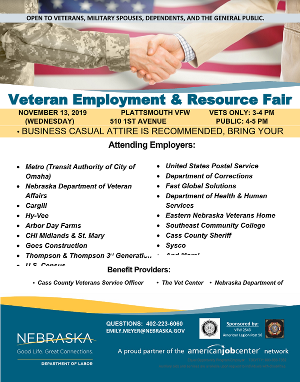 Nov veteran fair